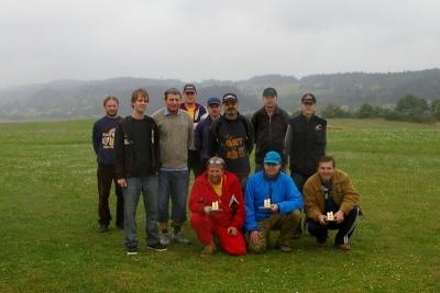 Končinský čtverec 08 - soutěžící a vítězové