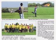 Setkání modelářů na Dvořisku - reportáž v RC Modely 10/2009