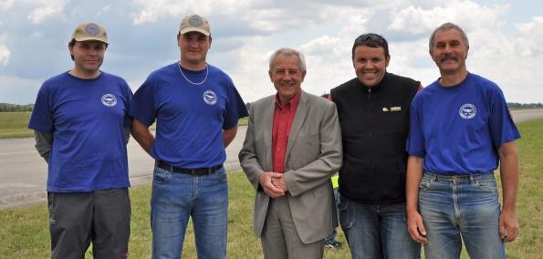 Open Skies for Handicapped 2011 - s ministrem zdravotnictví doc. MUDr. Leošem Hegerem