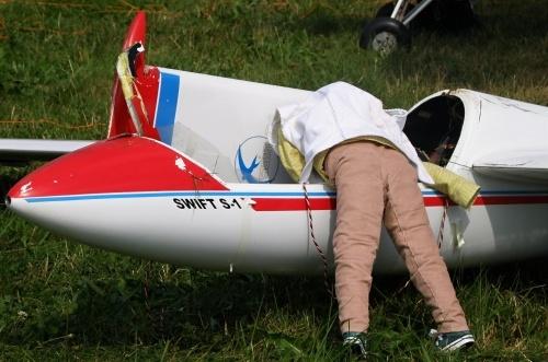 Chudák pilot z toho přistáni bleje...