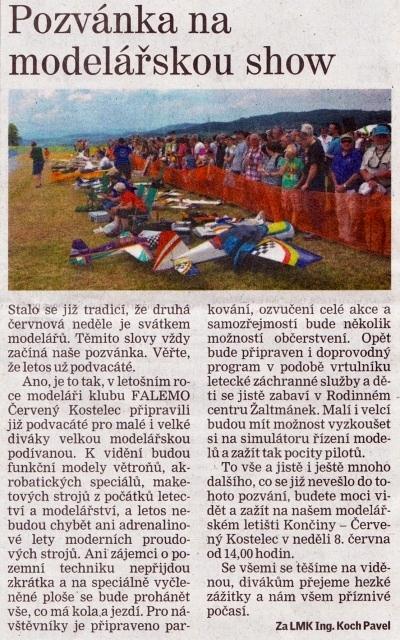 Náchodský deník 7. 6. 2014